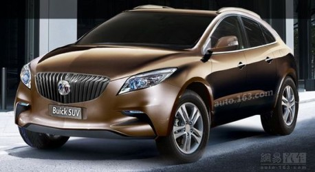 New Buick compact SUV for China (?) - CarNewsChina.com
