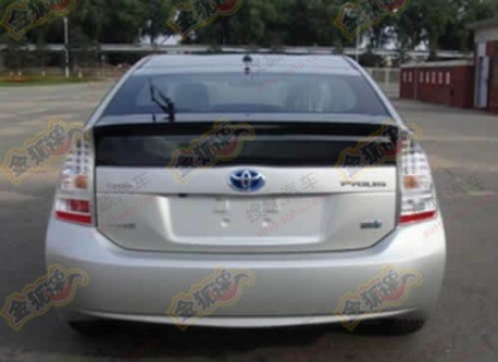 spy shots toyota prius to be made in china again. Black Bedroom Furniture Sets. Home Design Ideas