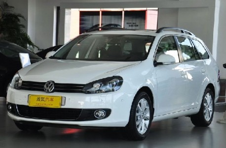Volkswagen Crossgolf And Golf Variant Listed Priced In China