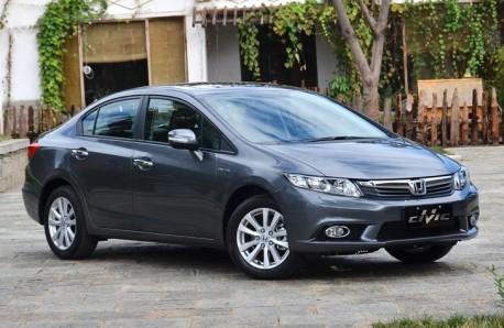 Honda Civic sedan China