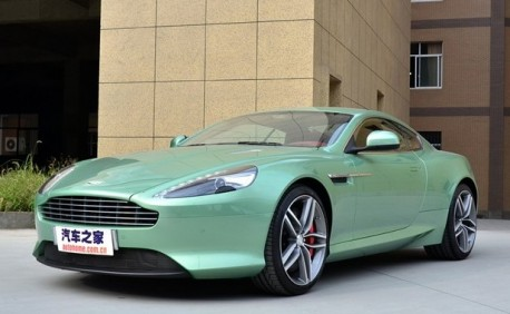 Aston Marin Virage Listed Priced In China CarNewsChinacom - Aston martin marin
