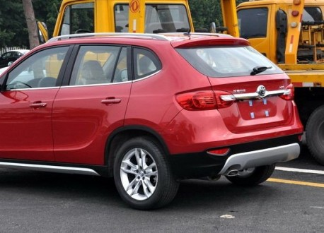 Brilliance V5 SUV arrives at the Guangzhou Auto Show