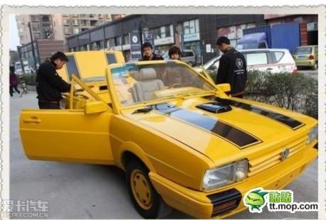 Volkswagen Santana tuning China