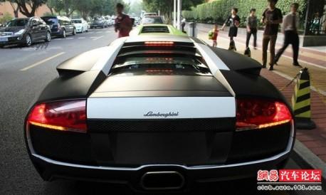Spotted In China Lamborghini Murcielago Lp640 4 Versace Edition