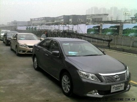 new Toyota Camry in China