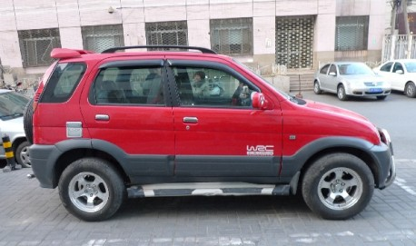 China Zotye Toyota copy