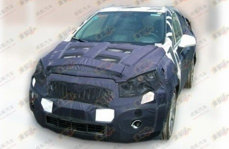 Buick Encore SUV testing in China