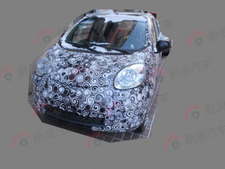 new Chery QQ for China