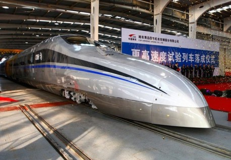 CRH500: Tren Baru China berkelajuan 500km/j (10 Gambar)