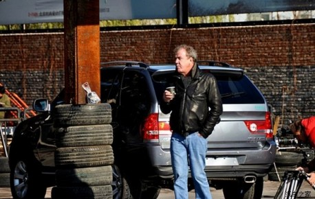 Top Gear filming in China