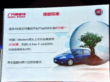 Fiat C-Medium for China