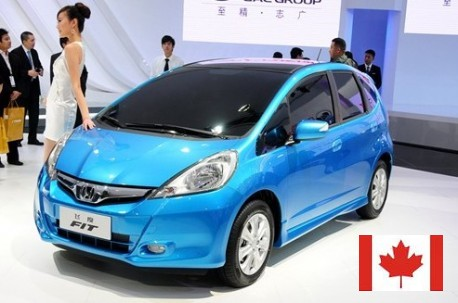 China Made Honda Fit Arrives In Canada