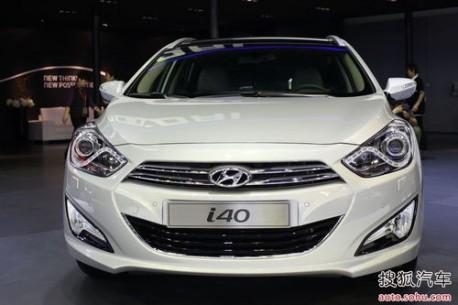 Hyundai i40 China