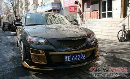 Extreme Tuning from China: Mazda 3 sedan