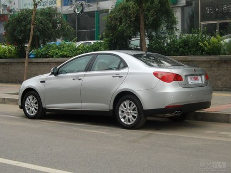 facelifted Roewe 550