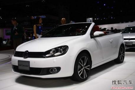 Volkswagen Golf Cabrio China