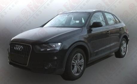 Audi Q3 China
