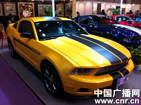 Ford Mustang Bumblebee China