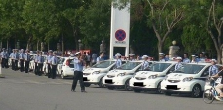 BYD F0 police car from China