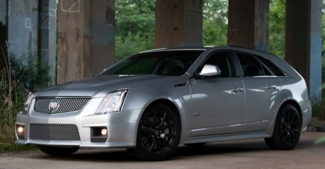 Cadillac CTS-V Wagon China
