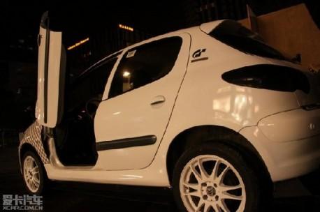 Citroen C2 with Lambo-doors