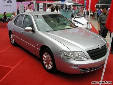 Dongfeng EQ7200 HEV hybrid