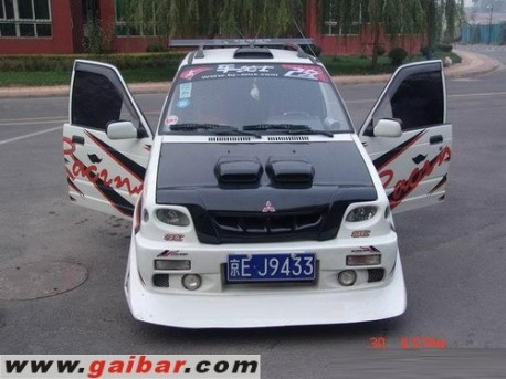 Extreme Tuning from China: Suzuki Alto