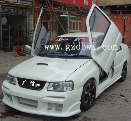Extreme Tuning from China: Xiali TJ700