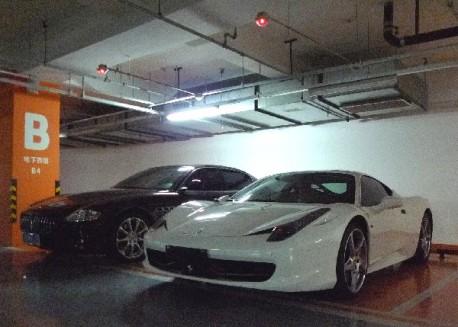 Ferrari 458 Italia & Maserati Quatroporte