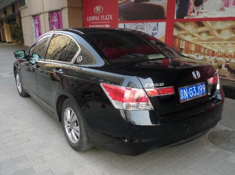 spotted in china honda accord 1 million anniversary edition. Black Bedroom Furniture Sets. Home Design Ideas