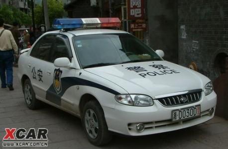 Kia Qianlima police car