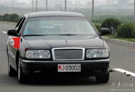 Hongqi of China; the Lincoln years