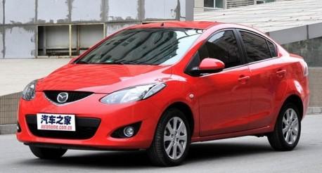 Mazda 2 in China