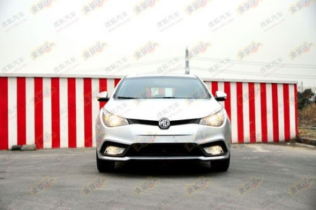 New MG5 in China