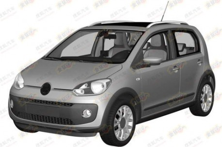 Volkswagen Cross Up! leaks in China