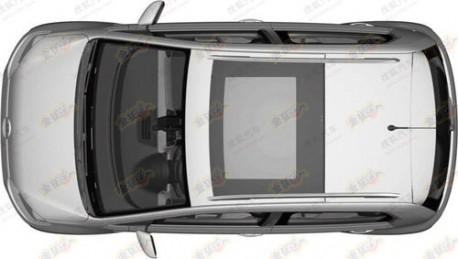 Volkswagen Cross Up! leaks in China