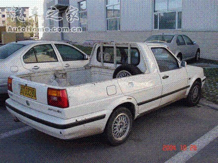 Volkswagen Jetta pickup truck from China