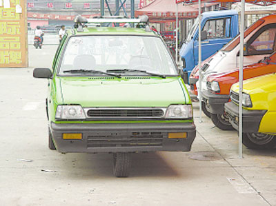 Suzuki Alto inspired Tricycles from China
