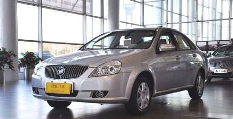 Buick Excelle in China