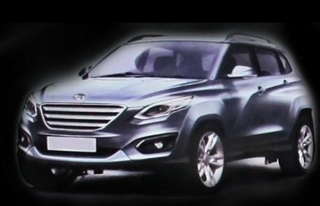 new Chang'an SUV