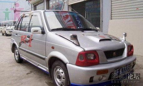 Extreme Tuning from China: Suzuki Alto