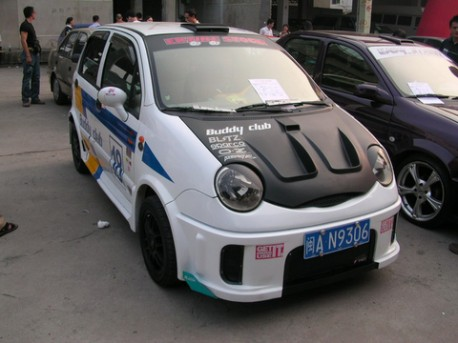 Extreme Tuning from China: Chery QQ