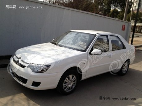 Facelift for the Citroen c-Elysee in China
