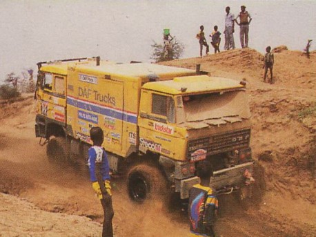 'Daf Double Cab' rally truck