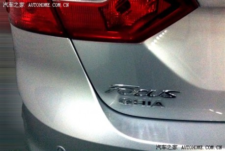 Ford Focus Ghia China