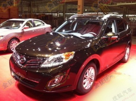 Guangzhou Auto Trumpche GS5 in China
