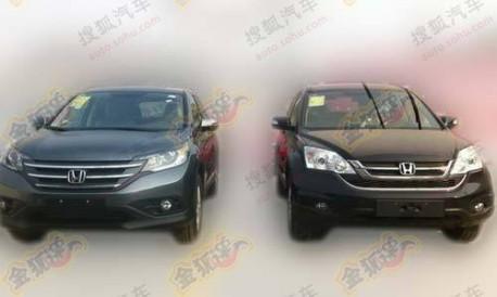 Honda CR-V ready for the market in China