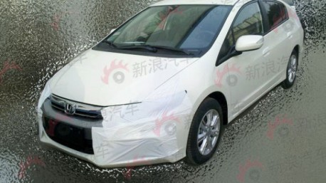 Honda Insight testing in China