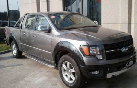 JAC 4R3 Ford F150 clone from China