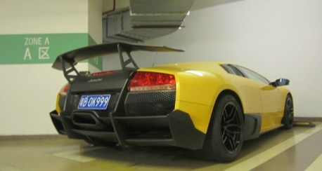 Lamborghini Murcielago SV China